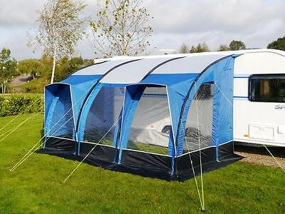 Sunncamp Ultima Aspire 390 Caravan Porch Awning (Blue)