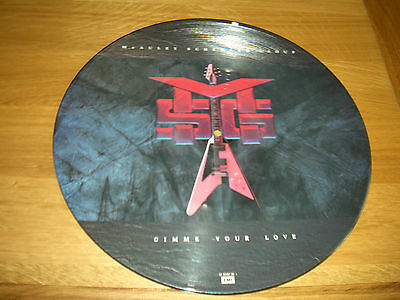 """Mcauley Schenker Group-Gimme your love.12"""" picture disc"""