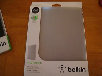 Belkin iPad 2nd 3rd & 4th Generation Snap Shield Secure Protect Cover Case