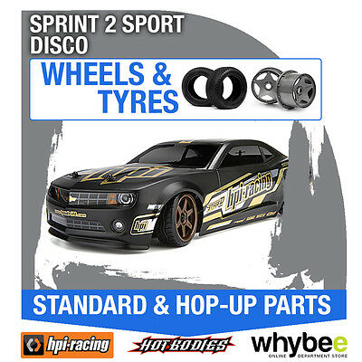 HPI SPRINT 2 SPORT [DISCONTINUED KITS] [Wheels & Tyres] Genuine HPi 1/10 R/C