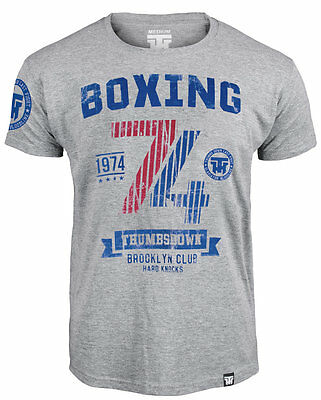 T-Shirt Mma Boxing Brooklyn Club Hard Knocks For Boxer Training Casual Wears