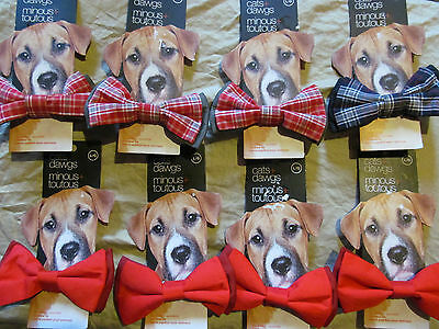 Dog bowties, pet bow ties @LOT of 20@ Small, Medium & Large, NEW, assorted color