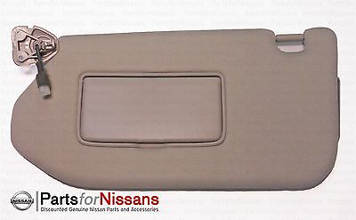 Genuine Nissan 2013-2016 Pathfinder Infiniti Jx60 Drivers Side Sunvisor W Mirror