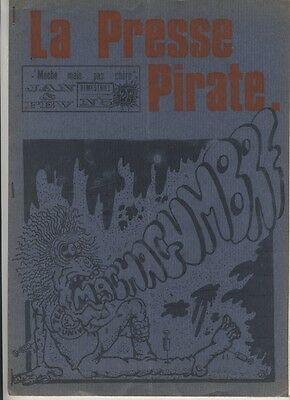 (137) Rare Journal La presse pirate N°5