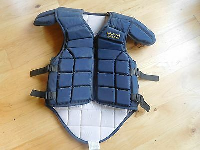 Casel-Equi Protective Horse Riding Jump Vest Eventing Rodeo Junior Ages 10-14
