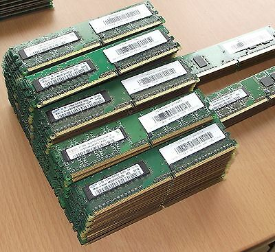 *UK* Lot of 100 x 512mb DDR2 PC2-4200 non-ecc PC dimms. 1 month warranty.
