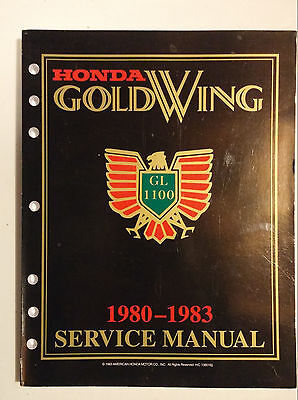 Honda GoldWing Service Manual ('80 - '83)