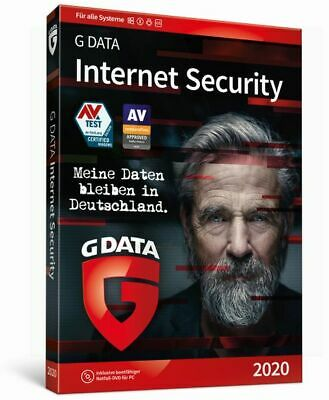 G Data Internet Security 2018 3 PC 1 Jahr GDATA TOP!!!