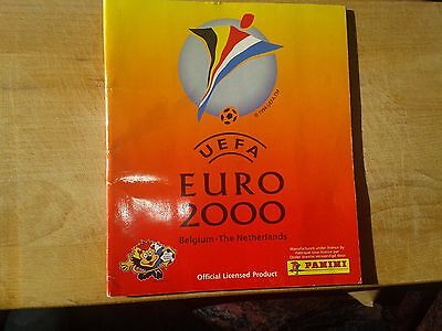 PANINI EURO 2000 take 10 stickers from all 354
