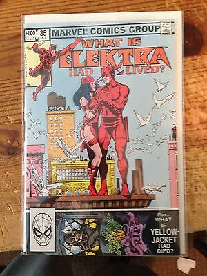 What If 35 Elektra Had Lived Frank Miller Nm