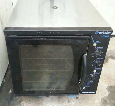 Blue Seal E32 Max Turbofan Commercial Convection Oven Baking