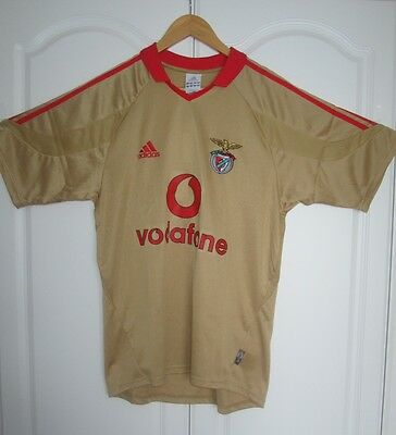 Benfica Official Adidas Soccer Jersey / Football Shirt Adult size Small