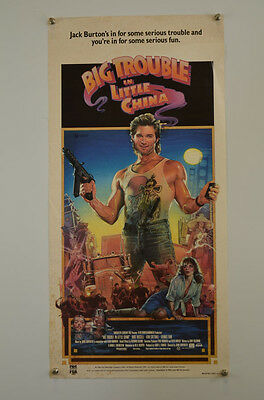 Big Trouble in Little China (1986) Rolled Daybill Movie Poster
