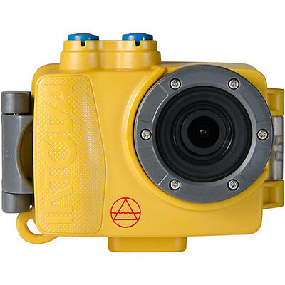 Intova Dub Waterproof Hi-Res 8MP/1080p Photo and Video Action Camera, Yellow