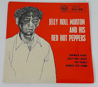 Jelly Roll Morton and his Hot Peppers Sidewalk Blues + 3 UK 1959 RCA EP RCX-168
