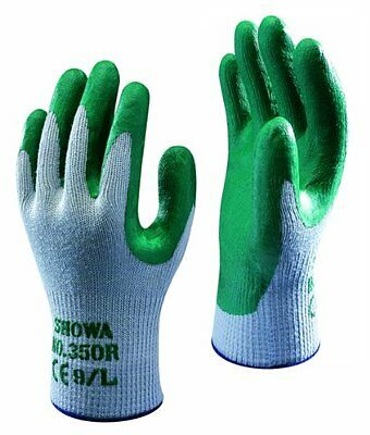 SHOWA 350R Thorn Master Nitrile Grip gardening Work Safety Gloves All Sizes