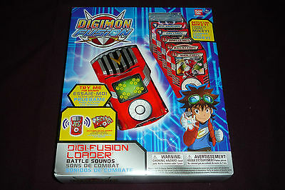 2013 Bandai Digimon Digi-Fusion Card Loader W/ Battle Sounds NEW