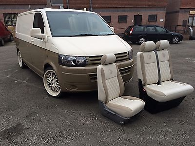 VW T5 Transporter Re Trimming Leather Seats
