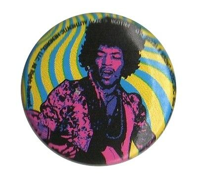 Jimi Hendrix Icon Design 2 1.5 inch 38mm button pin badge Official