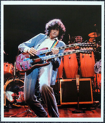 Led Zeppelin Poster Page 1983 Jimmy Page Royal Albert Hall Concert . P33