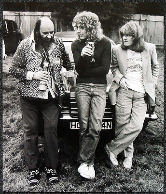 Led Zeppelin Poster Page 1979 Peter Grant Robert Plant John Paul Jones . P30
