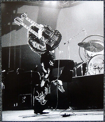 Led Zeppelin Poster Page 1975 Jimmy Page La Forum 25 Mar Concert . P28