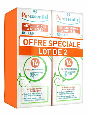 Puressentiel Roller Articulation Lot 2X75ml