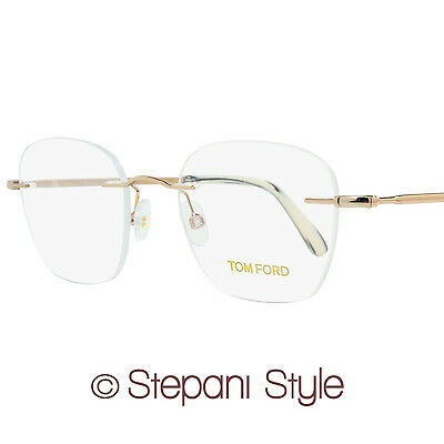 9264214368f TOM FORD RIMLESS Eyeglasses TF5341 028 Size  49mm Rose Gold 5341 ...
