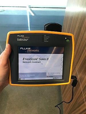 Fluke Networks EtherScope Series II Cable Tester