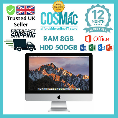 "Apple iMac 21.5"" Core i5 4x2.5Ghz 8GB 500GB (May, 2011) A Grade 12 M Warranty"