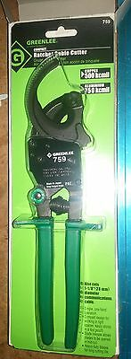 """Ratchet Cable Wire Cutter 10-1/2"""", Greenlee 759"""