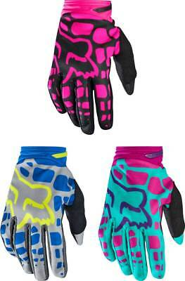 2017 Fox Racing Womens Dirtpaw Gloves - MX Motocross Off-Road ATV Dirt Bike Gear
