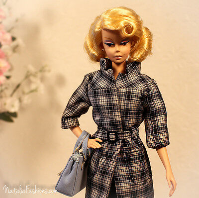 New Coat Only Barbie Silkstone Fashion Royalty Doll Outfit Dress