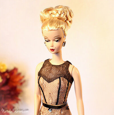 Last One New Dress Only For Barbie Silkstone Fashion Royalty Nu Face Doll