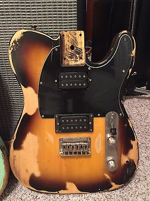 Fender Squier Telecaster Relic Body - Loaded!!