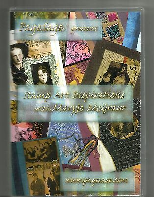 MARYJO MCGRAW: Stamp Art Inspirations (2003, DVD) Crafts: Stamping: PageSage