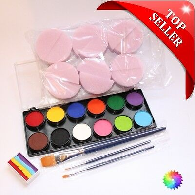Face Paint Kit - Professional Quality - Starter Pack