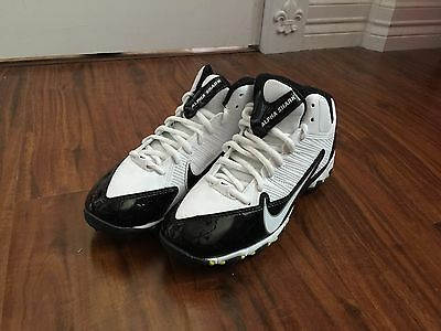 Nike Youth Alpha Shark 3/4 Football Cleats New Without Tags Size 4Y