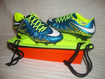 New Nike 744947 Hypervenom Phinish FG Soccer Women Cleats With Bag Size 8