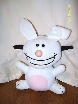 Jim Benton Happy Bunny Plush 12""