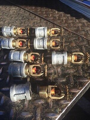 8 Pieces Tyco Fire Sprinkler Heads 2013, 2014 And 2015 Never Installed