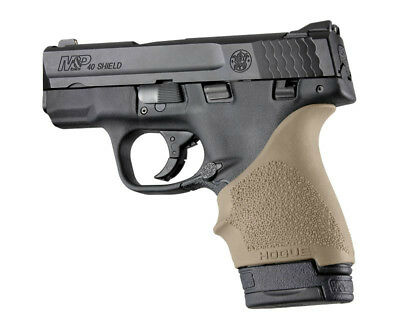Hogue HANDALL S&W M&P Shield/Ruger LC9 Beavertail Grip Sleeve-FDE-18403