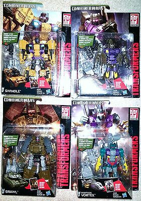 Lot of 4 Transformers G1 Combiner Wars CW Combaticons Bruticus Deluxe Limbs MOSC