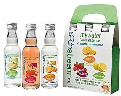 SodaStream MyWater Flavor Essence (Set of 3), Fast Free Shipping