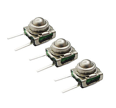 3x Spherical Tactile Switch - KSJ0M21180SHLFT