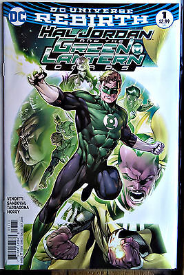 Hal Jordan and The Green Lantern Corps #1A DC Rebirth SOLD OUT! 1st Print Mint
