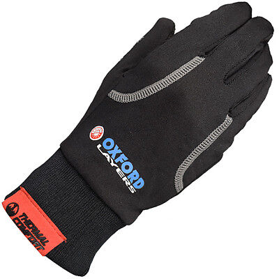 Oxford Warm Dry Motorbike Motorcycle Thermal Base Layer - Under Gloves