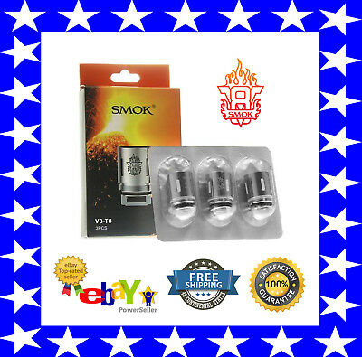 AUTHENTIC SMOK TFV8 Cloud Beast V8-T8 Replacement Coils 1 PACK FOR TFV8 TANK