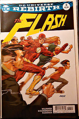 FLASH #3B SOLD OUT! 1st Print Near Mint Dave Johnson Variant Cover DC Rebirth