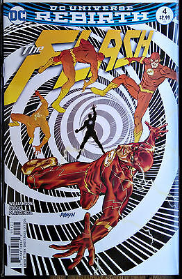 FLASH #4B SOLD OUT! 1st Print Near Mint Dave Johnson Variant Cover DC Rebirth